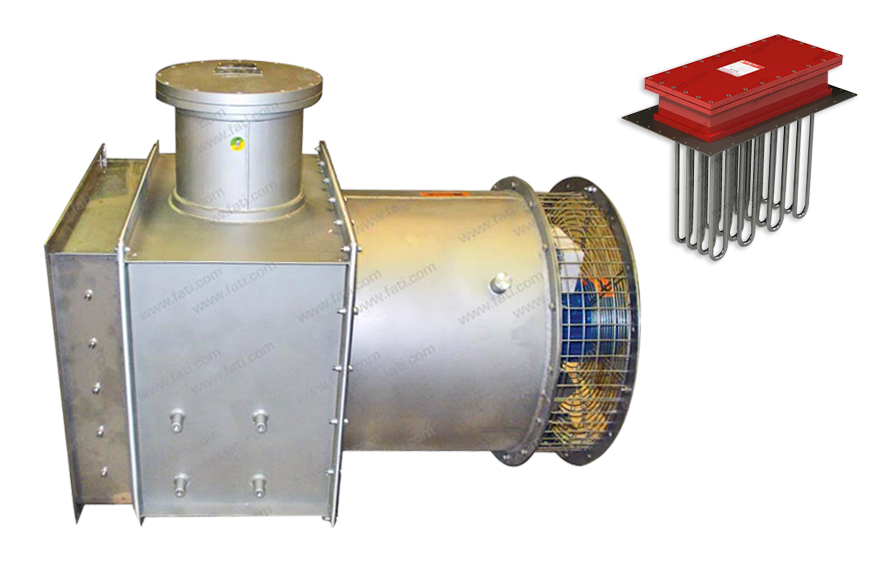Industrial Duct Heaters : Atex ex electric duct heaters fati